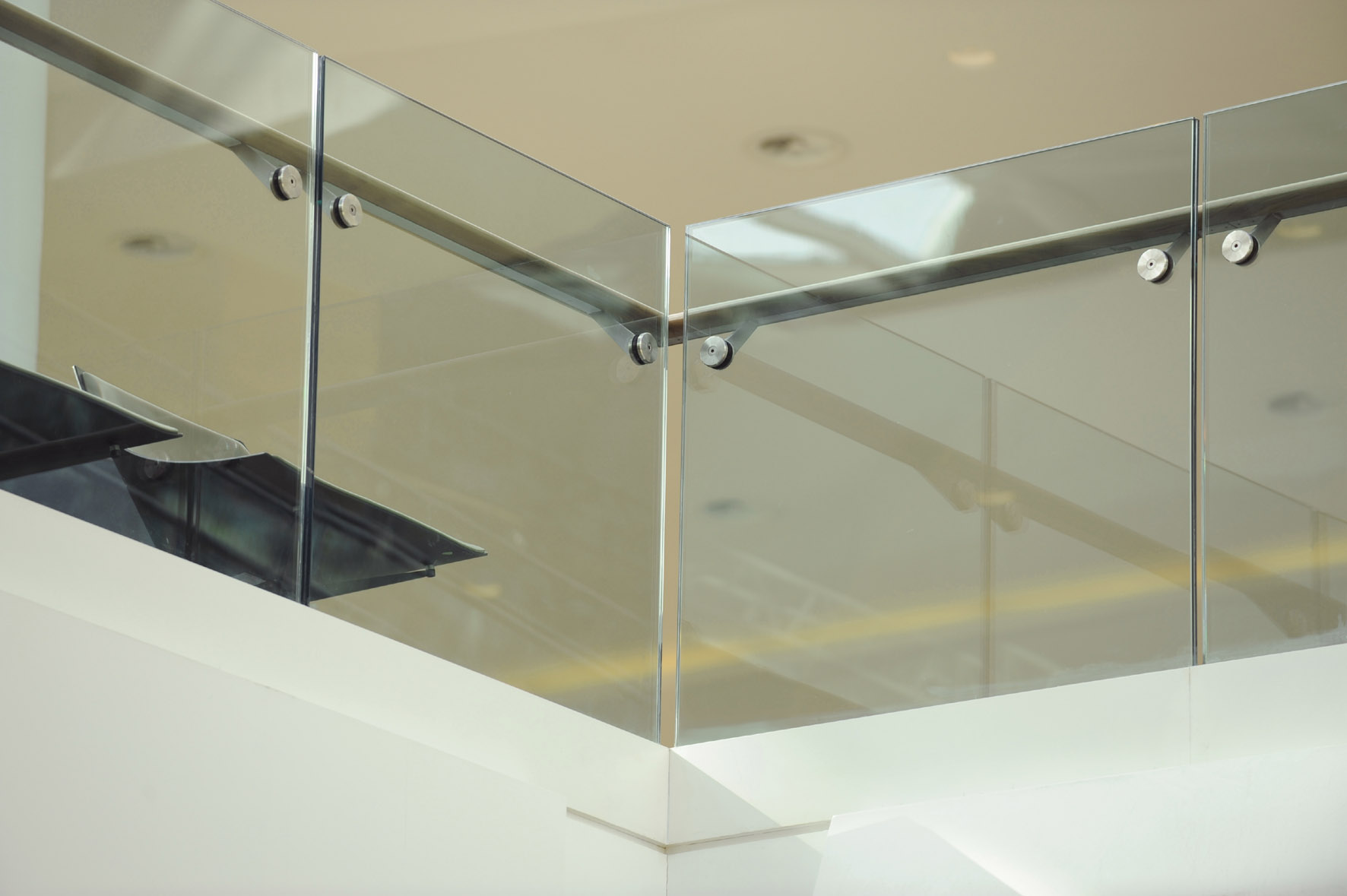 Триплекс стекло ограждения