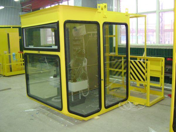 стекло для кабины крана
