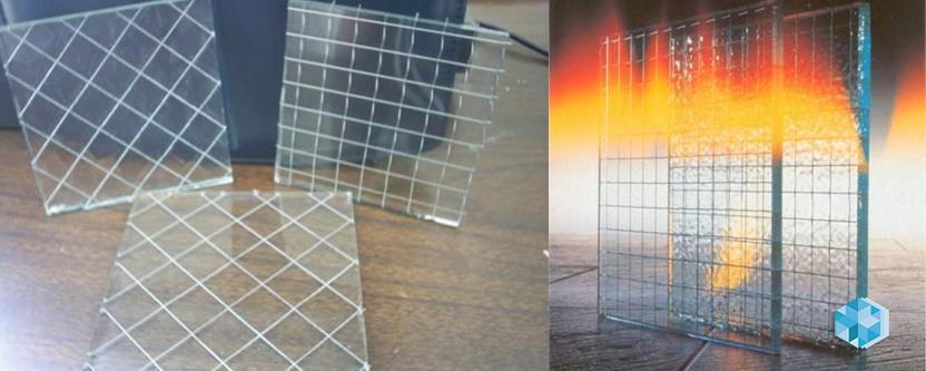 применения армированного стекла