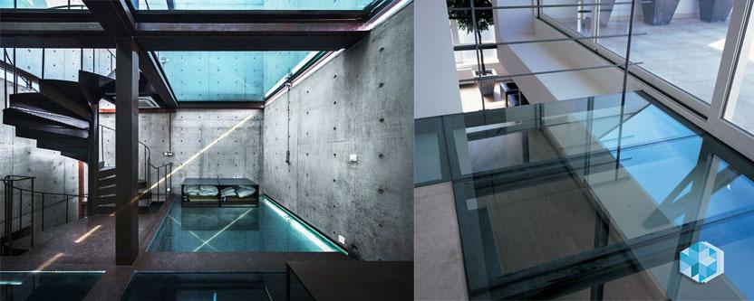 Перекрытия второго света и стеклянные мостики