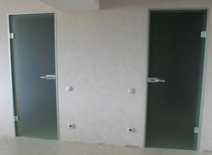 стеклянная дверь по типу 3