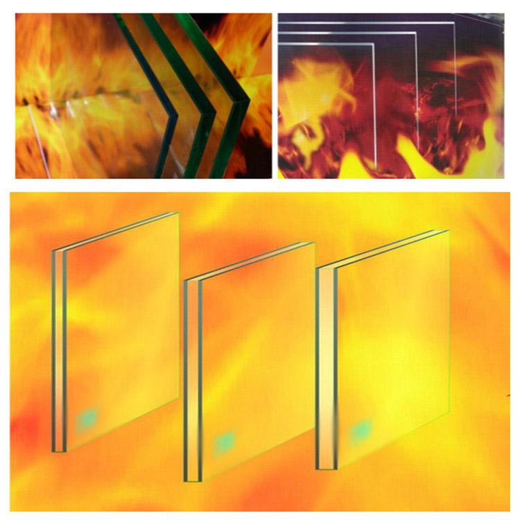 Пожаростойкий триплекс