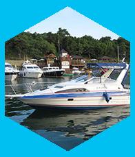 Стекла триплекс для катеров и яхт