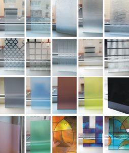 Виды декоративного стекла