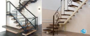 Лестницы на скрытых косоурах