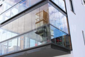Стеклянные балконы